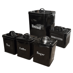 Tin Storage (Set of 5)