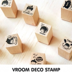 ตัวปั้ม-VROOM Deco Stamp (Cute Mini)