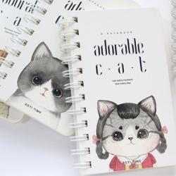 [D25] สมุดโน๊ต : Adorable CAT