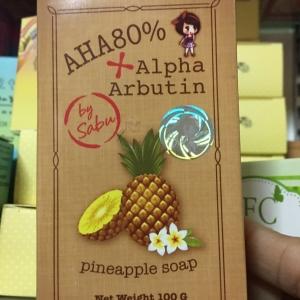 Sale !!สบู่สับปะรด AHA80%