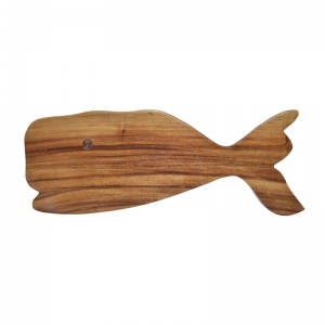 Wood Whale Cutting Board, Imported