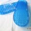 K021-BL**พร้อมส่ง** (ปลีก+ส่ง) รองเท้านวดสปา เพื่อสุขภาพ สีน้ำเงิน ปุ่มเล็ก(ใส)แบบนิ่ม ส่งคู่ละ 120 บ. thumbnail 7