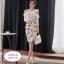 แฟชั่นเกาหลี set เสื้อและกระโปรงสวยมากๆ ครับ เสื้อผ้าโพลีเอสเตอร์ผสมสีขาว ดีไซน์เก๋ thumbnail 1