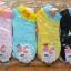 S201**พร้อมส่ง** (ปลีก+ส่ง) ถุงเท้าแฟชั่นเกาหลี ข้อสั้น เนื้อดี งานนำเข้า(Made in China) thumbnail 2