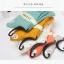 S341 **พร้อมส่ง** (ปลีก+ส่ง) ถุงเท้าแฟชั่นเกาหลี ข้อยาว คละ 5 สี มี 10 คู่/แพ็ค เนื้อดี งานนำเข้า(Made in China) thumbnail 6