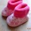 U015**พร้อมส่ง** (ปลีก+ส่ง) ถุงเท้ากึ่งรองเท้า สำหรับวัยหัดเดิน (1-2 ปี) ผูกเชือก พื้นยางอย่างดี กันลื่น งานนำเข้า ( Made in China) thumbnail 2