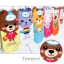 A034**พร้อมส่ง**(ปลีก+ส่ง) ถุงเท้าแฟชั่นเกาหลี ข้อสั้น มีหู มี 6 แบบ เนื้อดี งานนำเข้า( Made in Korea) thumbnail 2