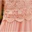 ชุดเดรส Brand YOCO นำเข้าของแท้ 100% ชุดเดรสผ้าชีฟอง+ลูกไม้อย่างดี สีชมพูหวานๆ น่ารักมากๆ (พร้อมส่ง) thumbnail 8