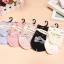 S336 **พร้อมส่ง** (ปลีก+ส่ง) ถุงเท้าแฟชั่นเกาหลี ข้อยาว คละ 5 สี มี 10 คู่/แพ็ค เนื้อดี งานนำเข้า(Made in China) thumbnail 1