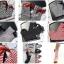U019**พร้อมส่ง** (ปลีก+ส่ง) ถุงเท้า แฟชั่นเด็กหญิง (4-8 ปี) ข้อยาวคลุมเข่า เนื้อดี งานนำเข้า ( Made in China) thumbnail 2
