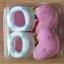 U011-3**พร้อมส่ง** (ปลีก+ส่ง) ถุงเท้าเด็ก(แรกเกิด-1 ปี) พับข้อ ติดหัวตุ๊กตา มีกันลื่น เนื้อดี งานนำเข้า ( Made in China) thumbnail 8