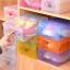 J02**พร้อมส่ง** เซ็ต 8 ชิ้น กล่องรองเท้า พลาสติกใส DIY พับเก็บและวางซ้อนได้ สำหรับไซส์ผู้หญิง สีผสม thumbnail 13