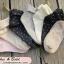 [พิเศษ 2 คู่ 100 ] ถุงเท้าลายจุดพับข้อสไตล์ญี่ปุ่น thumbnail 4