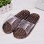 K021-BK**พร้อมส่ง** (ปลีก+ส่ง) รองเท้านวดสปา เพื่อสุขภาพ สีดำ ปุ่มเล็ก(ใส)แบบนิ่ม ส่งคู่ละ 120 บ. thumbnail 1