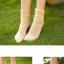 S523**พร้อมส่ง** (ปลีก+ส่ง) ถุงเท้าข้อยาว แฟชั่นเกาหลี คละสี มี 12 คู่ต่อแพ็ค เนื้อดี งานนำเข้า(Made in China) thumbnail 18
