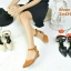 ZARA lady's shoes พร้อมส่ง รองเท้าหัวแหลมส้นเตารีด thumbnail 3