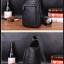 Pre-order กระเป๋าหนังคาดอก คาดไหล่ สะพายไหล่ ผู้ชายแฟชั่นเกาหลี รหัส Man-5232 สีดำ thumbnail 6