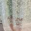 ชุดเดรสลูกไม้ ถักโครเชต์รูปดอกไม้สีฟ้าอมเขียว คอเสื้อ ไหล่ และปลายแขนเสื้อเป็นผ้าโปร่งซีทรู thumbnail 15