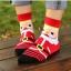 ถุงเท้าน่ารักลายกวางเรนเดียร์น้อยพุงโต thumbnail 3