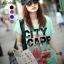 เสื้อยืดแฟชั่น ผ้าเนื้อนุ่ม ลาย City Scape สีเขียวมินท์ thumbnail 1