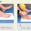 K015-OR**พร้อมส่ง** (ปลีก+ส่ง) รองเท้านวดสปา เพื่อสุขภาพ ปุ่มใหญ่แบบนิ่ม สีส้ม ถอดพื้นทำความสะอาดได้ ส่งคู่ละ 180 บ. thumbnail 12