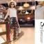 แฟชั่นเกาหลี set เสื้อและกางเกงสุดเก๋ สวยมากๆ thumbnail 5