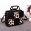กระเป๋าถือและสะพายข้างแฟชั่นเกาหลี ยี่ห้อ MICHERR สีเทาลายเสือดาว thumbnail 2