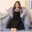 เสื้อผ้าแฟชั่นเกาหลี set เสื้อและกระโปรง สวยมากๆ ครับ thumbnail 4