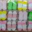 U011-3**พร้อมส่ง** (ปลีก+ส่ง) ถุงเท้าเด็ก(แรกเกิด-1 ปี) พับข้อ ติดหัวตุ๊กตา มีกันลื่น เนื้อดี งานนำเข้า ( Made in China) thumbnail 15