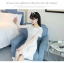 ชุดเดรสสีขาว ตัวเสื้อผ้ารูปดอกกุหลาบสามมิติ ลายนูนออกมาจากตัวชุดสีขาว thumbnail 9