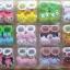 U011-3**พร้อมส่ง** (ปลีก+ส่ง) ถุงเท้าเด็ก(แรกเกิด-1 ปี) พับข้อ ติดหัวตุ๊กตา มีกันลื่น เนื้อดี งานนำเข้า ( Made in China) thumbnail 1