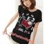 เสื้อยืดแฟชั่น ผ้านุ่ม ลาย Cool Dog (Size M:36 นิ้ว) สีดำ thumbnail 1