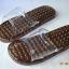 K021-BK**พร้อมส่ง** (ปลีก+ส่ง) รองเท้านวดสปา เพื่อสุขภาพ สีดำ ปุ่มเล็ก(ใส)แบบนิ่ม ส่งคู่ละ 120 บ. thumbnail 6