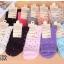 S343 **พร้อมส่ง** (ปลีก+ส่ง) ถุงเท้าแฟชั่นเกาหลี ข้อยาว คละ 5 สี มี 10 คู่/แพ็ค เนื้อดี งานนำเข้า(Made in China) thumbnail 1