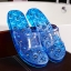 K022-BL **พร้อมส่ง** (ปลีก+ส่ง) รองเท้านวดสปา เพื่อสุขภาพ ปุ่มแม่เหล็ก สีน้ำเงิน ส่งคู่ละ 190 บ. thumbnail 1