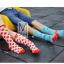 S250**พร้อมส่ง** (ปลีก+ส่ง) ถุงเท้าแฟชั่นเกาหลี ข้อยาว คละ 8 ลาย มี 12 คู่ต่อแพ็ค เนื้อดี งานนำเข้า(Made in China) thumbnail 13