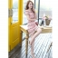 ชุดเดรสสวยๆ ผ้าถักโครเชต์ สีชมพู สวยหวาน thumbnail 3