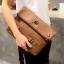 พร้อมส่ง ขายส่งกระเป๋าคลัทซ์และสะพายข้างผู้ชาย ใส่ipad tap 8 นิ้ว แฟชั่นเกาหลี รหัส Man-8731 สีน้ำตาล 1 ใบ thumbnail 1