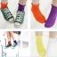 A047**พร้อมส่ง**(ปลีก+ส่ง) ถุงเท้าแฟชั่นเกาหลี ข้อยาว มี 11 สี เนื้อดี งานนำเข้า( Made in Korea) thumbnail 1