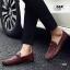 รองเท้าหนังผู้ชายแฟชั่น ดีไซน์สวยเท่ห์ โทนสีคลาสสิค thumbnail 4