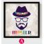 AG06 ภาพ Hipster ขนาด30*40 ซม/ภาพ thumbnail 2