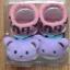 U011-3**พร้อมส่ง** (ปลีก+ส่ง) ถุงเท้าเด็ก(แรกเกิด-1 ปี) พับข้อ ติดหัวตุ๊กตา มีกันลื่น เนื้อดี งานนำเข้า ( Made in China) thumbnail 14