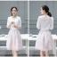 เสื้อผ้าแฟชั่นเกาหลี set เสื้อ และกระโปรงสวยมากๆ ครับ thumbnail 6