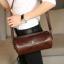 Pre-order กระเป๋าสะพายข้าง Messenger ผู้หญิง-ผู้ชาย ทรงหมอน ใส่ ipadmini 7.9 นิ้ว แฟขั่นเกาหลี รหัส Man-2035-28 สีน้ำตาล thumbnail 1