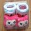 U011-3**พร้อมส่ง** (ปลีก+ส่ง) ถุงเท้าเด็ก(แรกเกิด-1 ปี) พับข้อ ติดหัวตุ๊กตา มีกันลื่น เนื้อดี งานนำเข้า ( Made in China) thumbnail 2