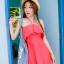 ชุดว่ายน้ำทูพีช สีแดงแตงโม สดใสน่ารักมากๆ มีกางเกงขาสั้นแยกให้ thumbnail 1