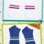 S356**พร้อมส่ง** (ปลีก+ส่ง) ถุงเท้าแฟชั่นเกาหลี ข้อสั้น ชาย คละ 5 สี มี 10 คู่ต่อแพ็ค เนื้อดี งานนำเข้า(Made in China) thumbnail 5