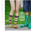 S250**พร้อมส่ง** (ปลีก+ส่ง) ถุงเท้าแฟชั่นเกาหลี ข้อยาว คละ 8 ลาย มี 12 คู่ต่อแพ็ค เนื้อดี งานนำเข้า(Made in China) thumbnail 5