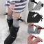 U019**พร้อมส่ง** (ปลีก+ส่ง) ถุงเท้า แฟชั่นเด็กหญิง (4-8 ปี) ข้อยาวคลุมเข่า เนื้อดี งานนำเข้า ( Made in China) thumbnail 1