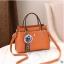 พร้อมส่ง กระเป๋าถือและสะพายข้างผู้หญิง แฟชั่นเกาหลี รหัส Yi-7103 สีส้ม 1 ใบ*แถมจี้ป๋อม thumbnail 1